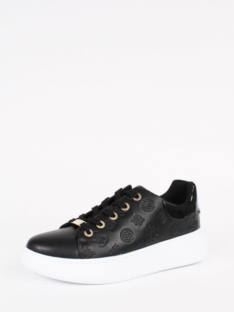 Guess Black Bradly 4G Logo Sneaker