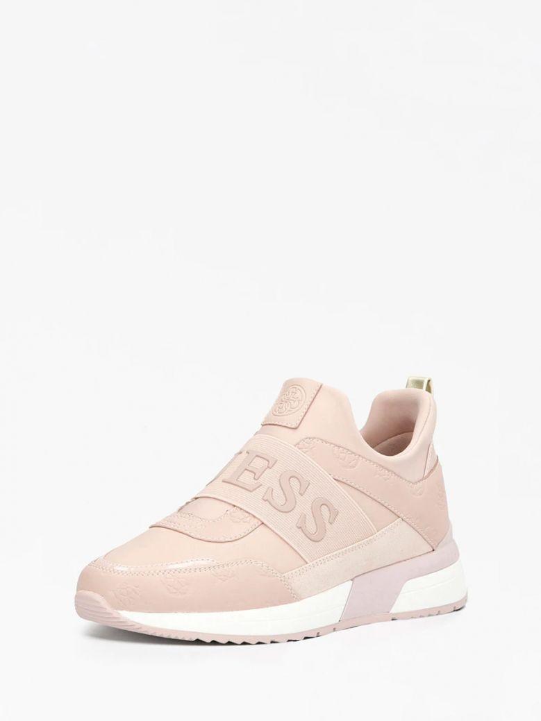 Guess Blush Maygin Embossed Logo Running Shoe