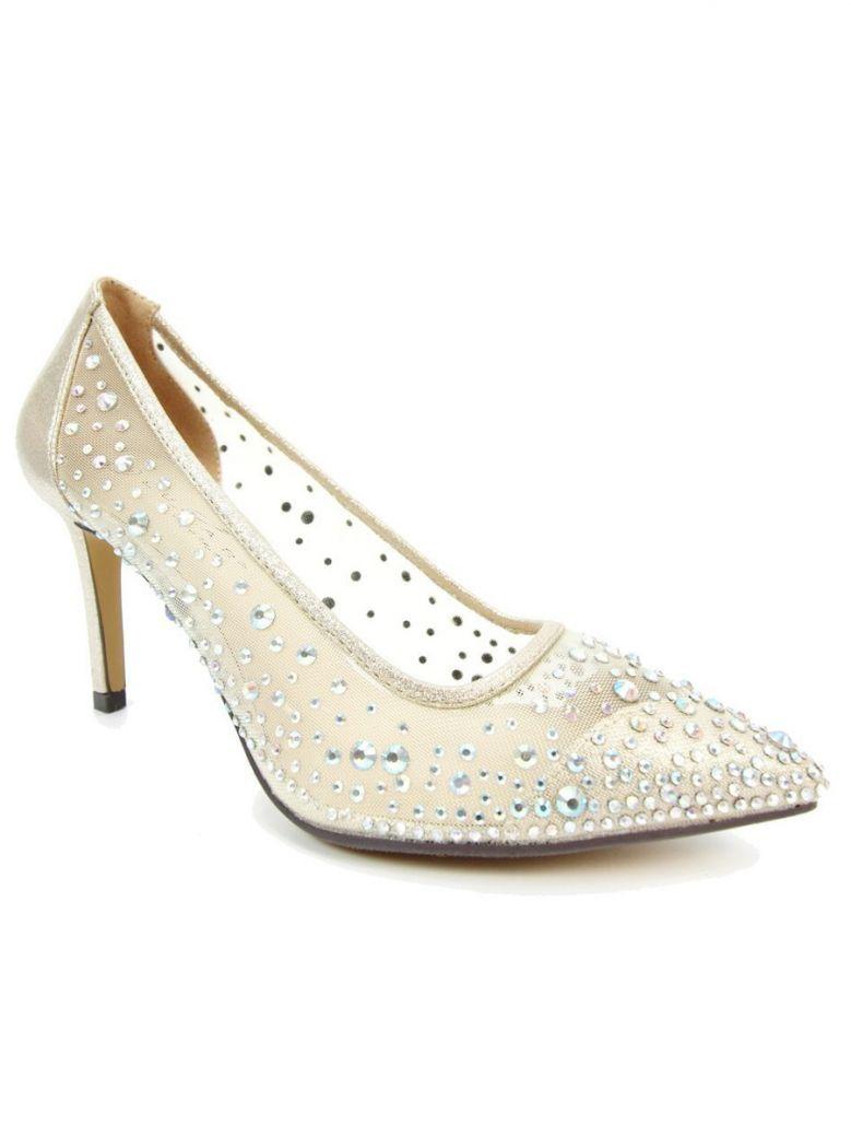 Lunar Gold Argo Mesh Court Shoes