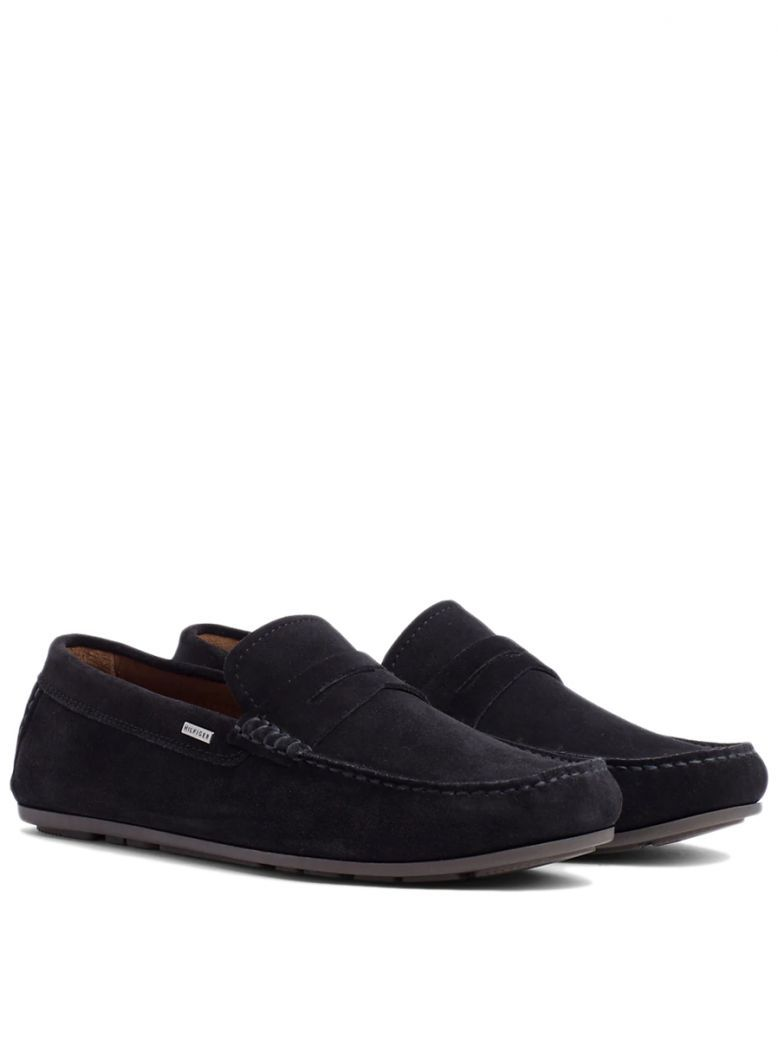 Tommy Hilfiger Midnight Classic Suede Penny Loafers