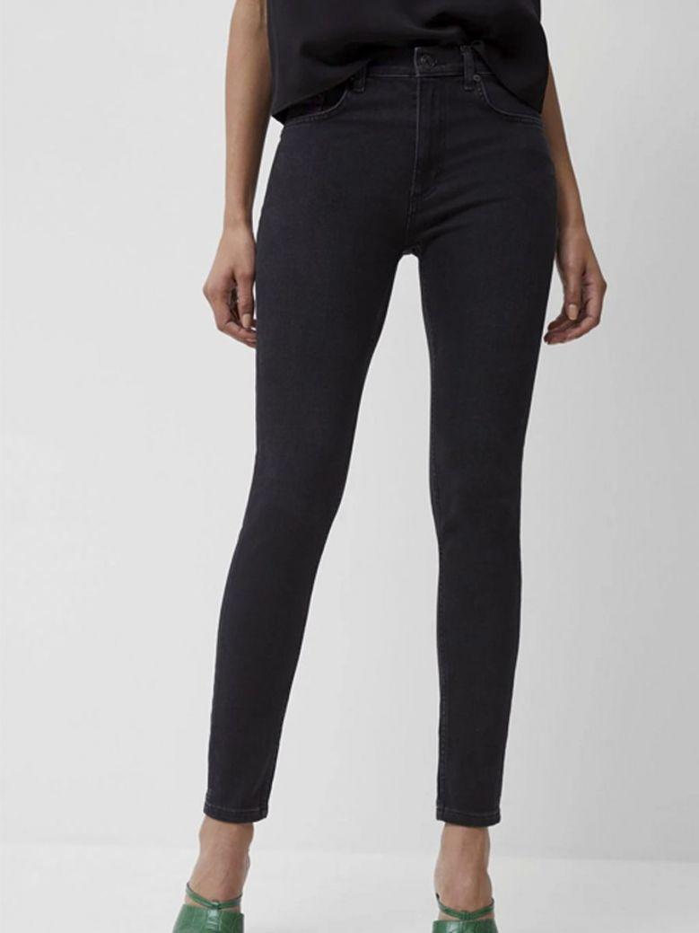 French Connection Slim Denim Jeans Washed Black