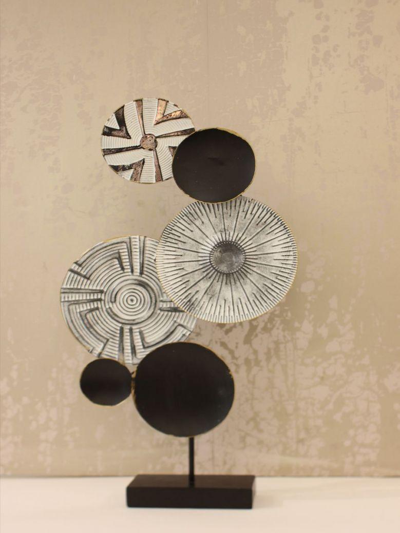 Tribal Print Circles Decoration