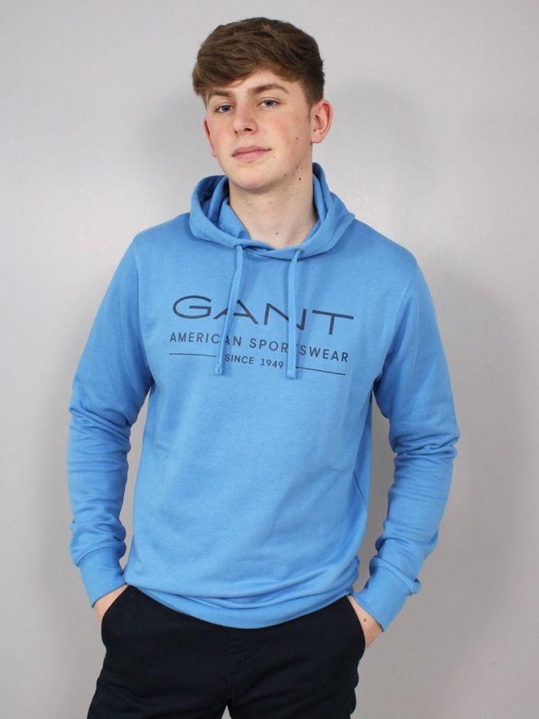 Gant MD Summer Hoodie Blue