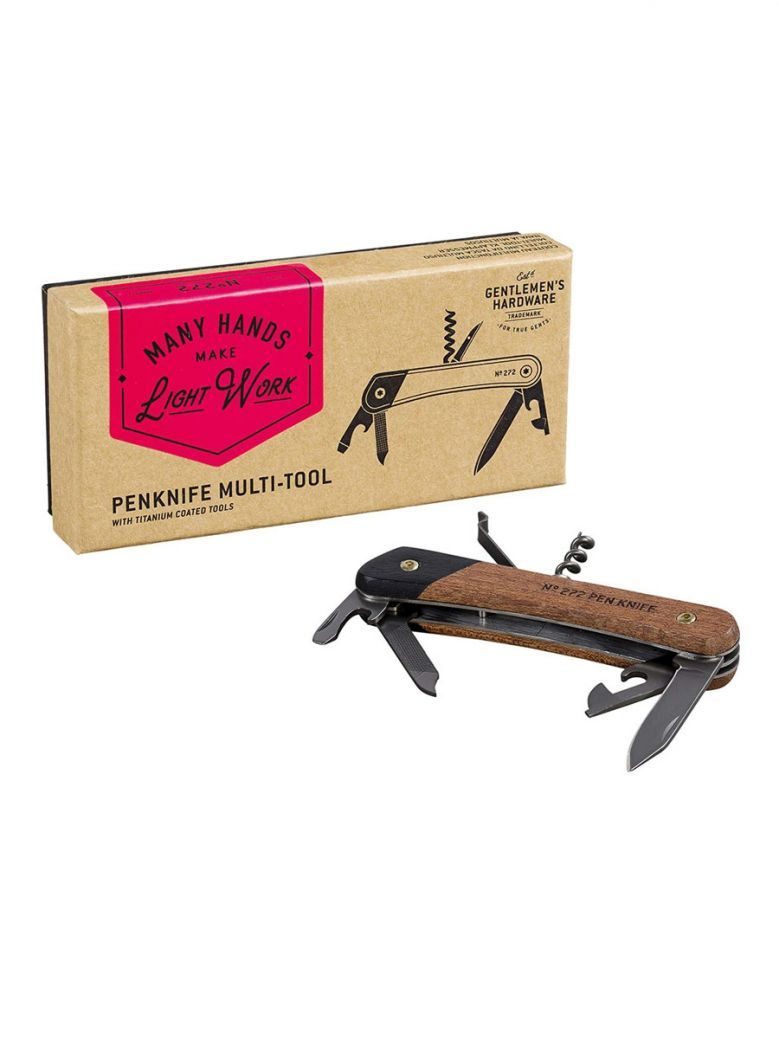 Gentlemen's Hardware Pen Knife Multi-Tool