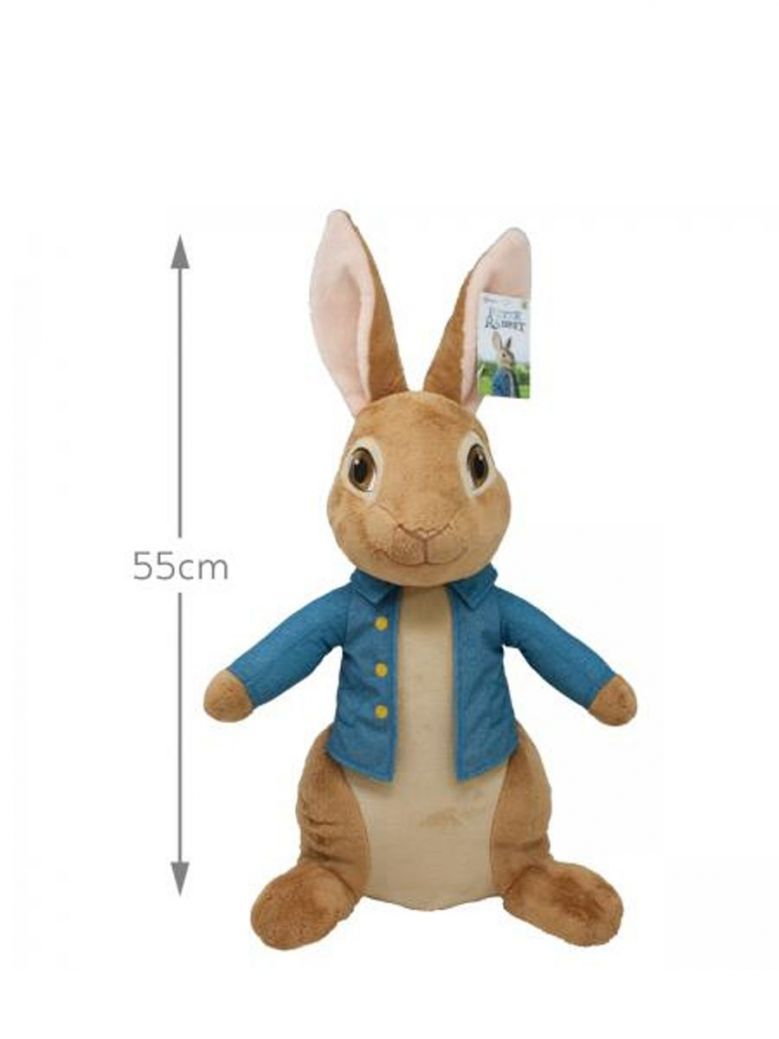 Giant Movie Peter Rabbit Soft Toy