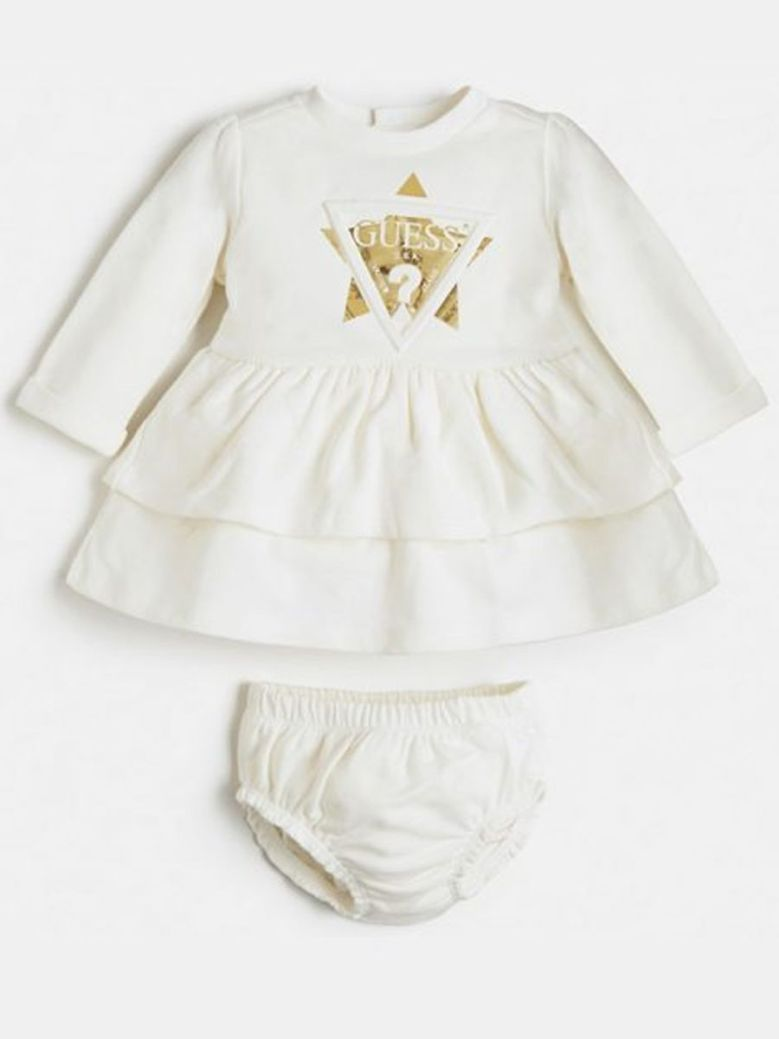 Guess Dress With Shorts Cream