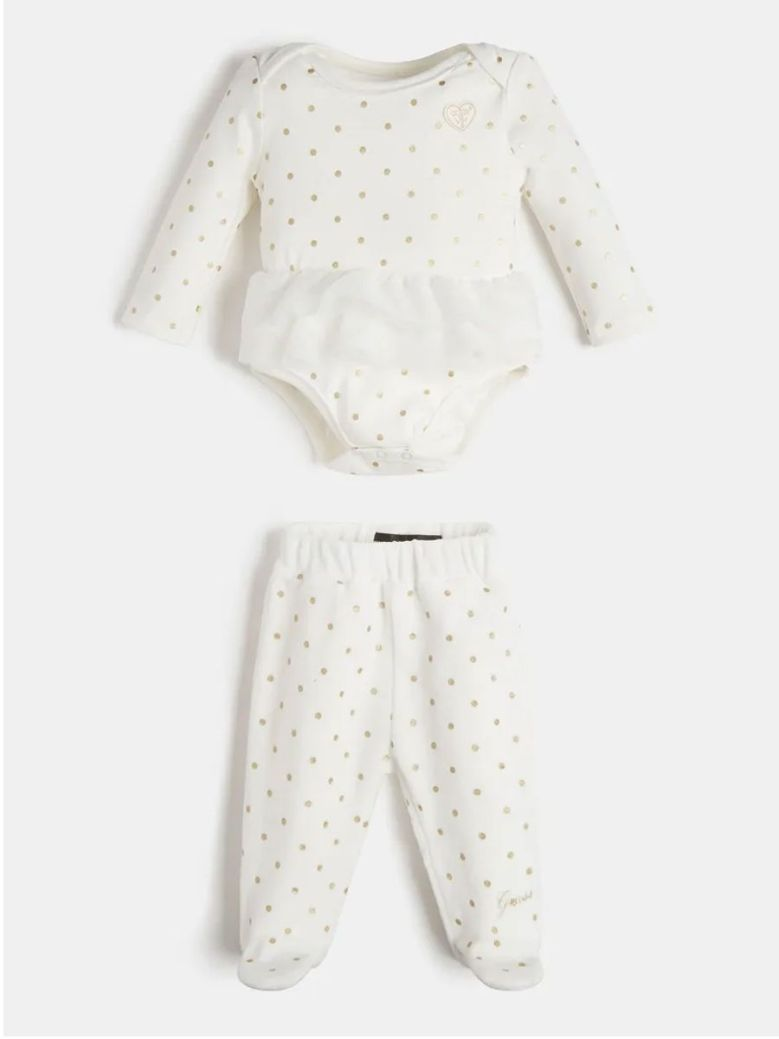 Guess Body & Trouser Set Cream