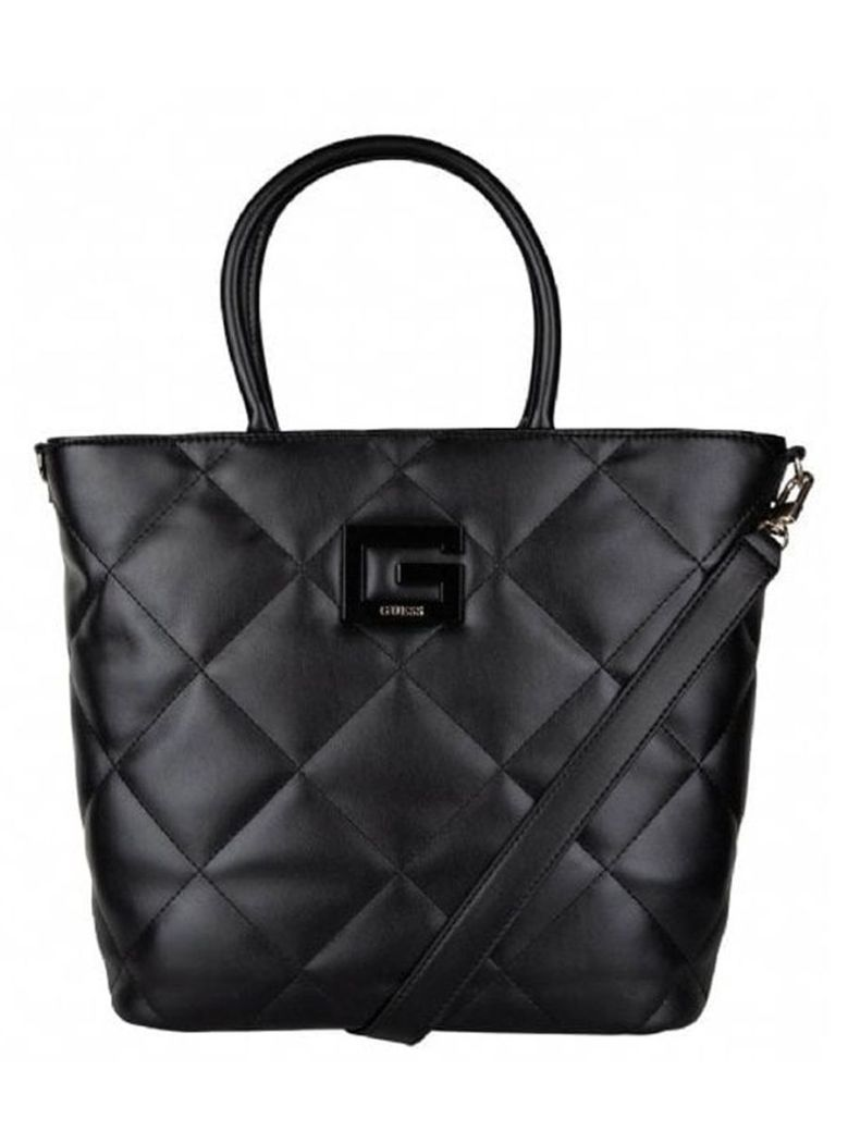Guess Brightside Quilted Shopper Black