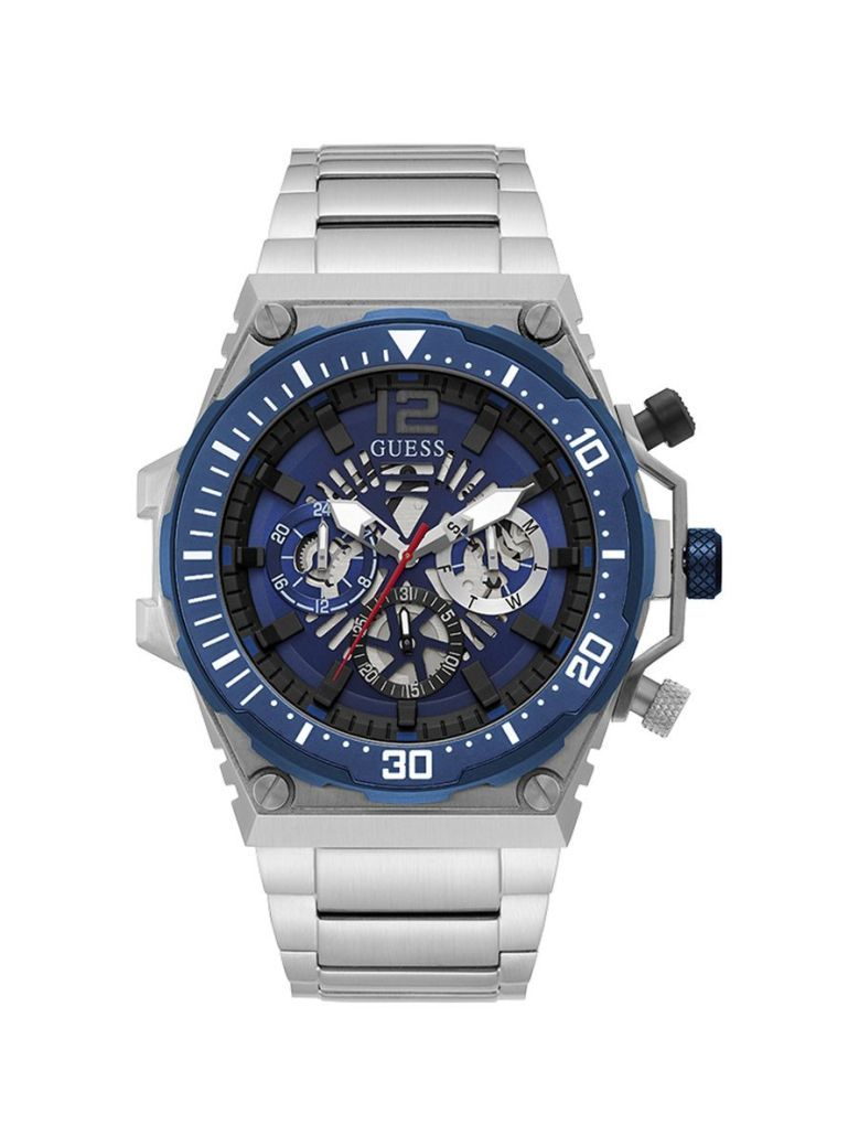 Guess Exposure Gents Watch GW0324G1 Silver