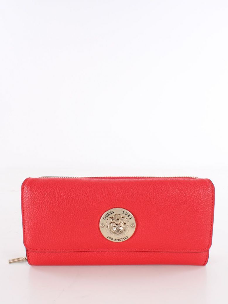 Guess Dayane Maxi Wallet Red