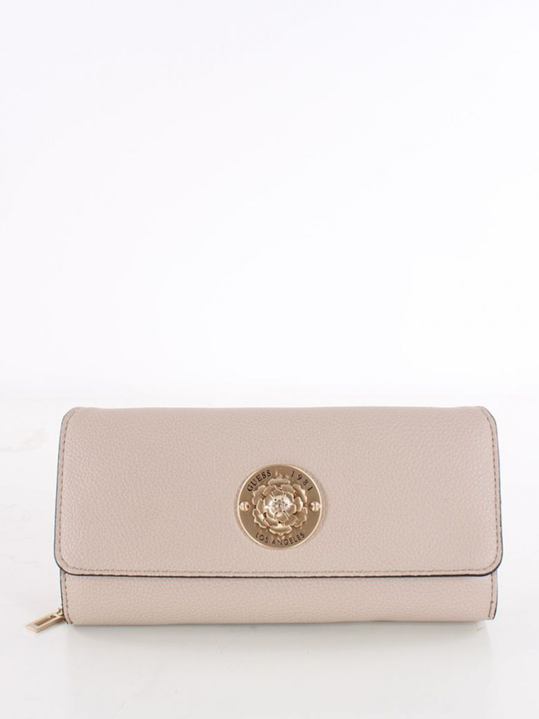 Guess Dayane Maxi Wallet Taupe