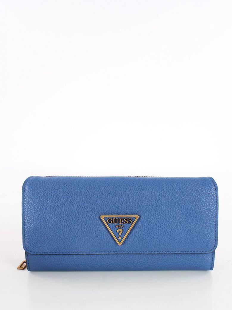 Guess Destiny Maxi Wallet Blue