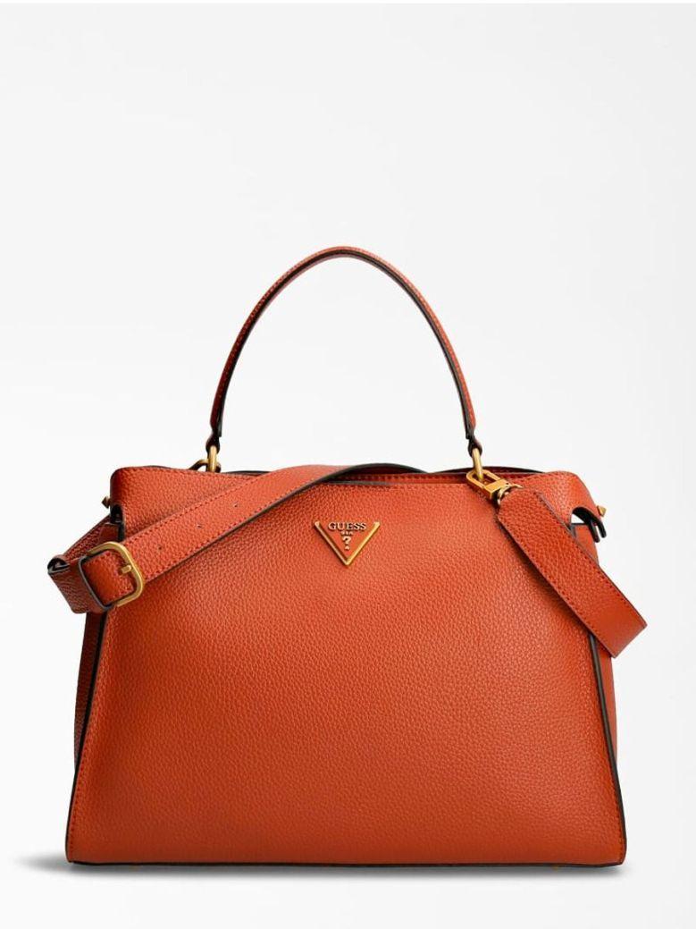 Guess Downtown Chic Handbag Brown
