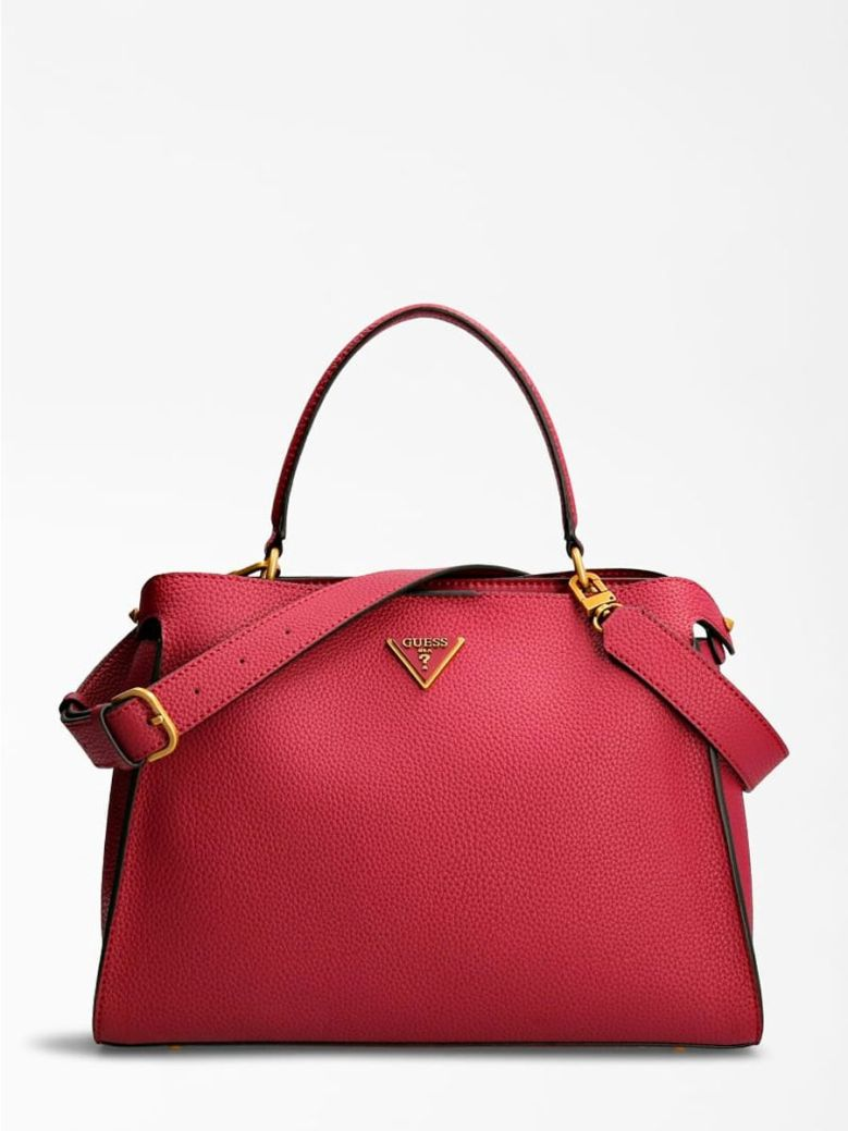 Guess Downtown Chic Handbag Plum