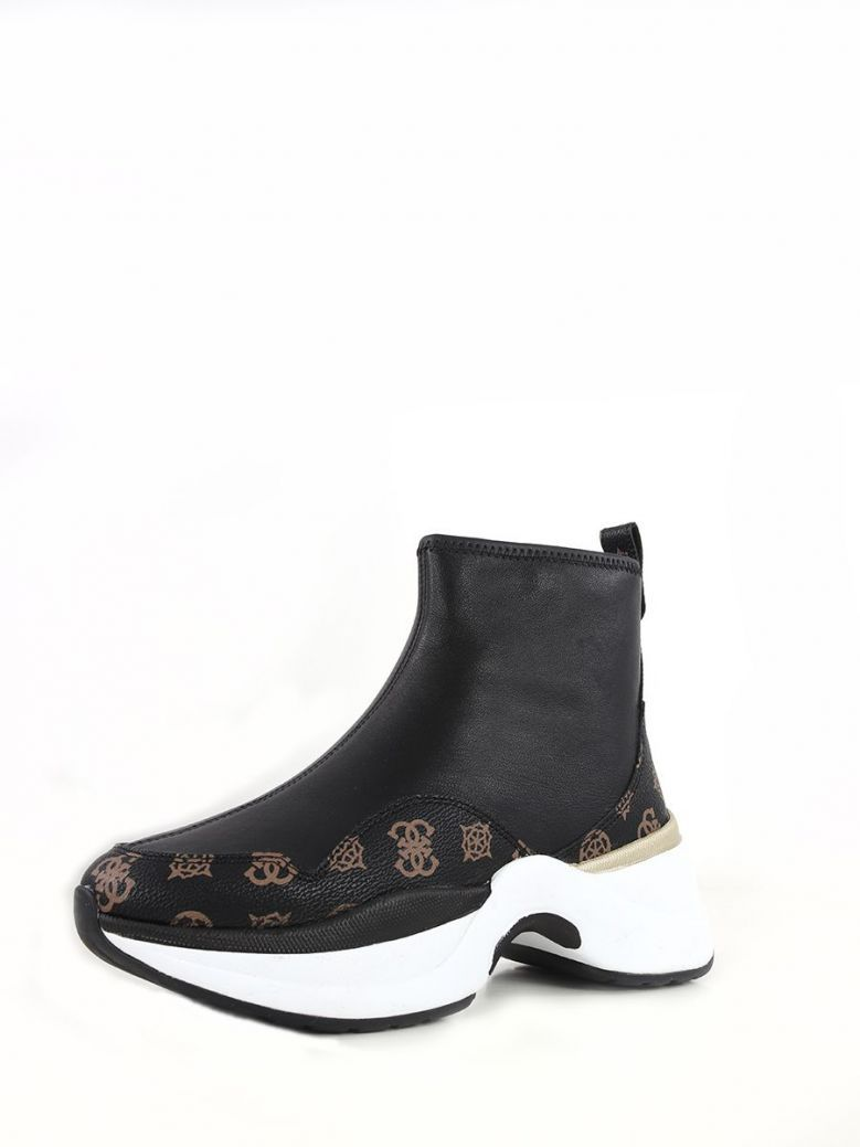 Guess Jalza 4G Peony Logo Sneaker Black