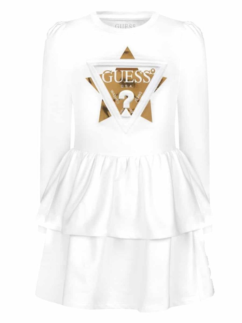 Guess French Terry Dress Cream