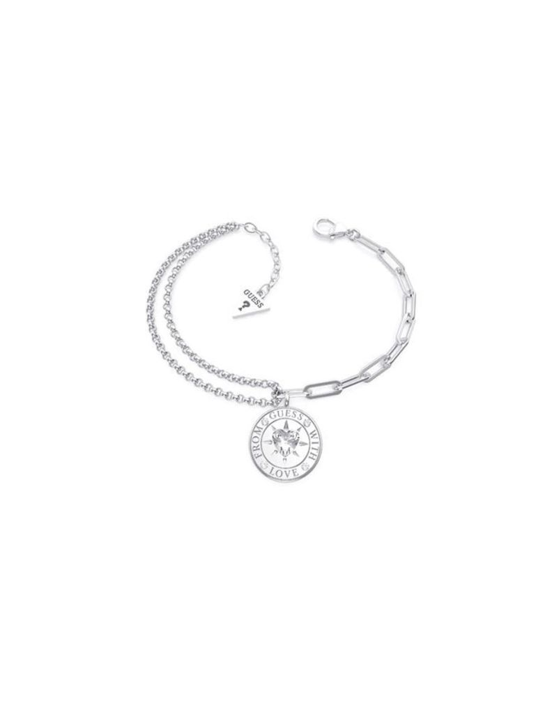 Guess Love Double Chain Silver