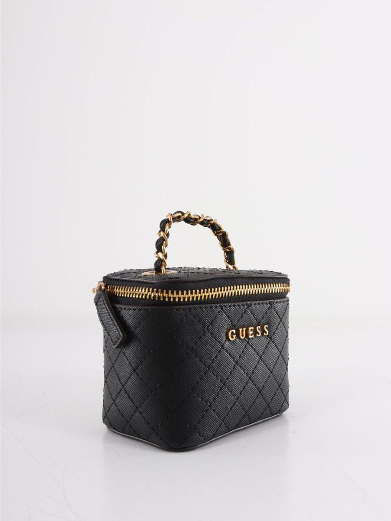Guess Mini Vanity Bag Black