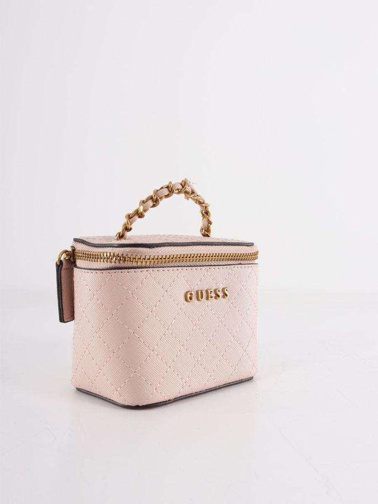 Guess Mini Vanity Bag Pink