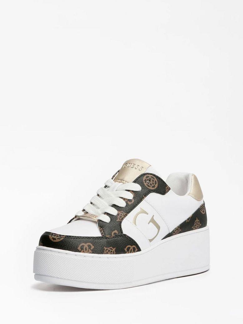 Guess Neiman 4G Logo Sneaker White Multi