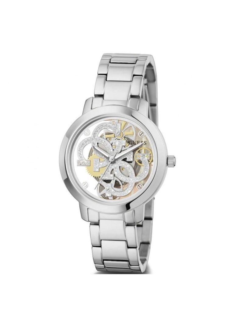 Guess Quattro Clear Ladies Watch GW0300l1 Silver