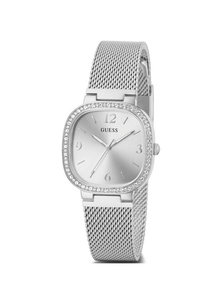 Guess Tapestry Ladies Watch Gw0354L1 Silver