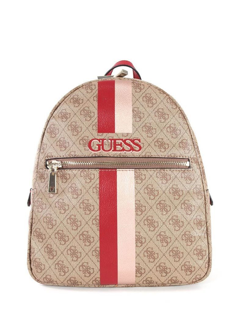 Guess Vikky 4G Logo Backpack Red