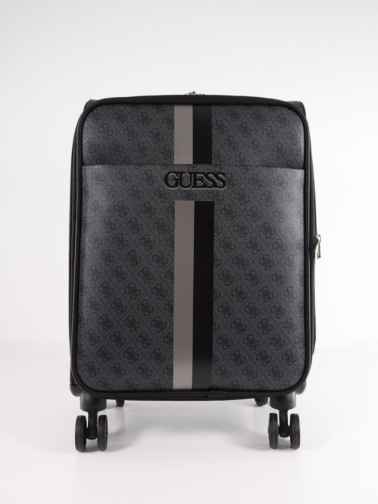 Guess Vikky 4G Peony Logo Cabin Suitcase Black