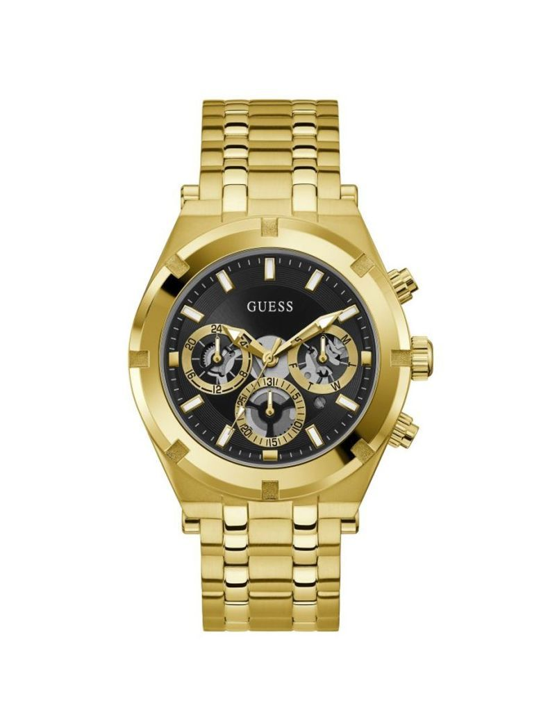 Guess Continental Gents Watch GW0260G2 Gold