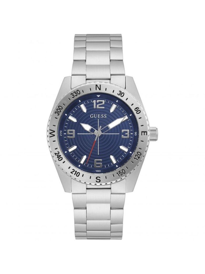 Guess North Gents Watch GW0327G1 Silver