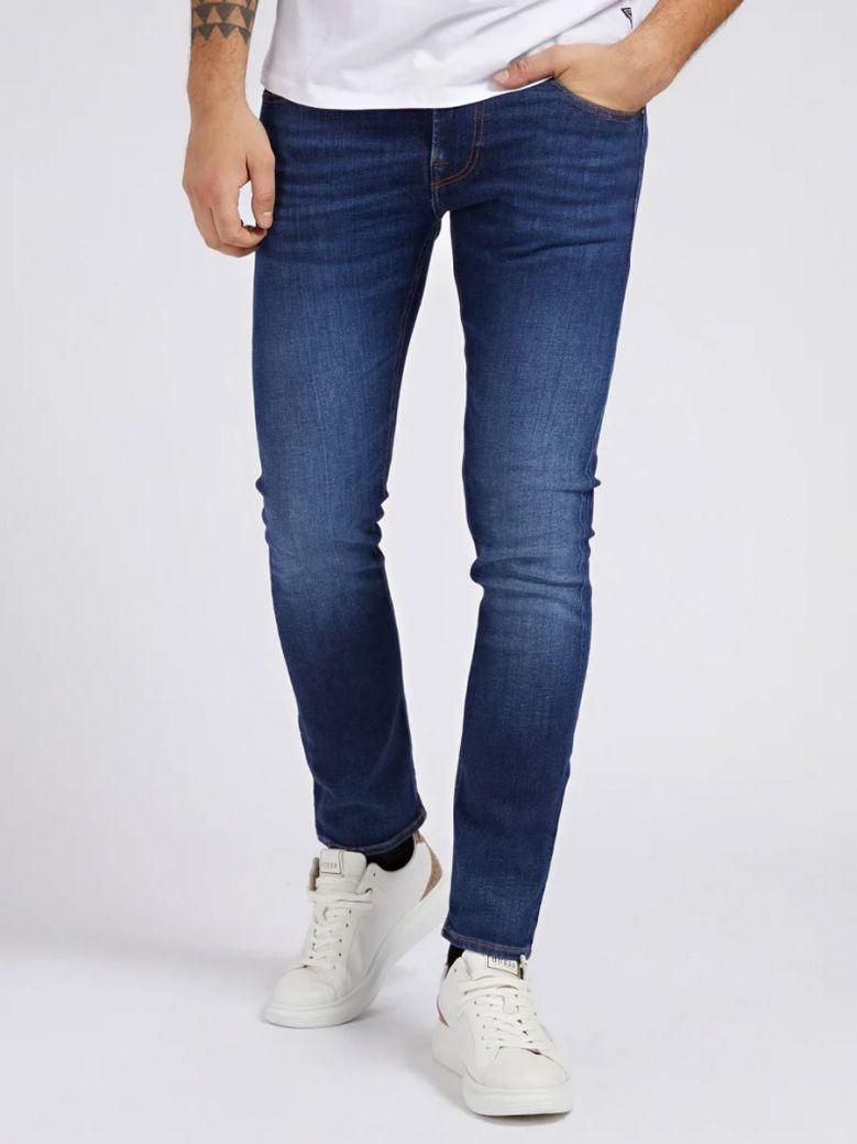 Guess Skinny Fit Denim Pant Blue