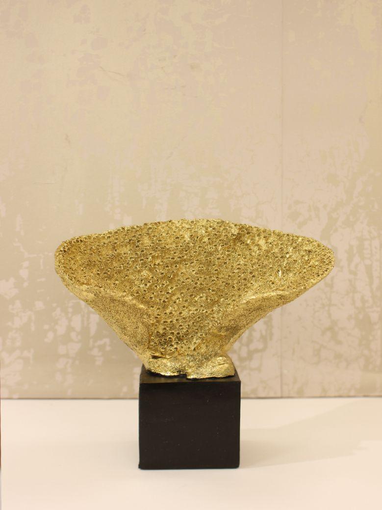 29.7cm Gold Coral Decoration