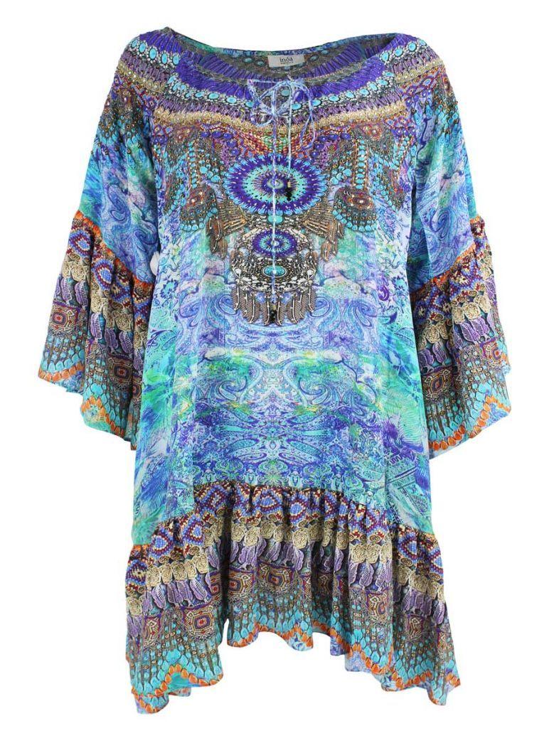 Inoa Azure Blue Amalfi Gypsy Dress