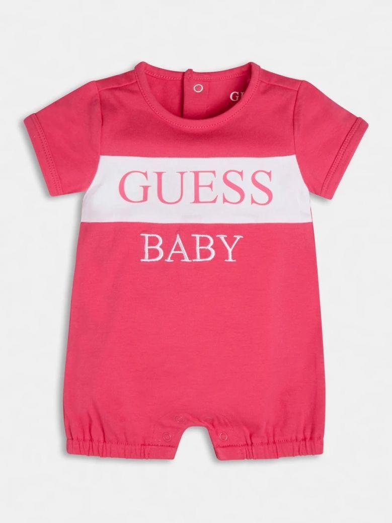Guess Kids Pink Logo Shortie in Gift Box