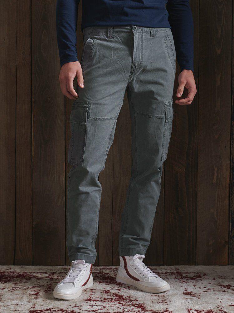 Superdry Grey Core Cargo Pants