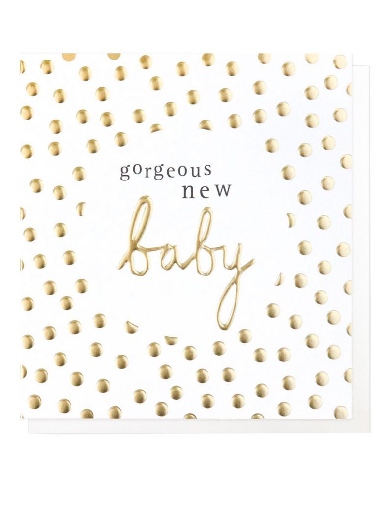 Caroline Gardner Gorgeous New Baby Card