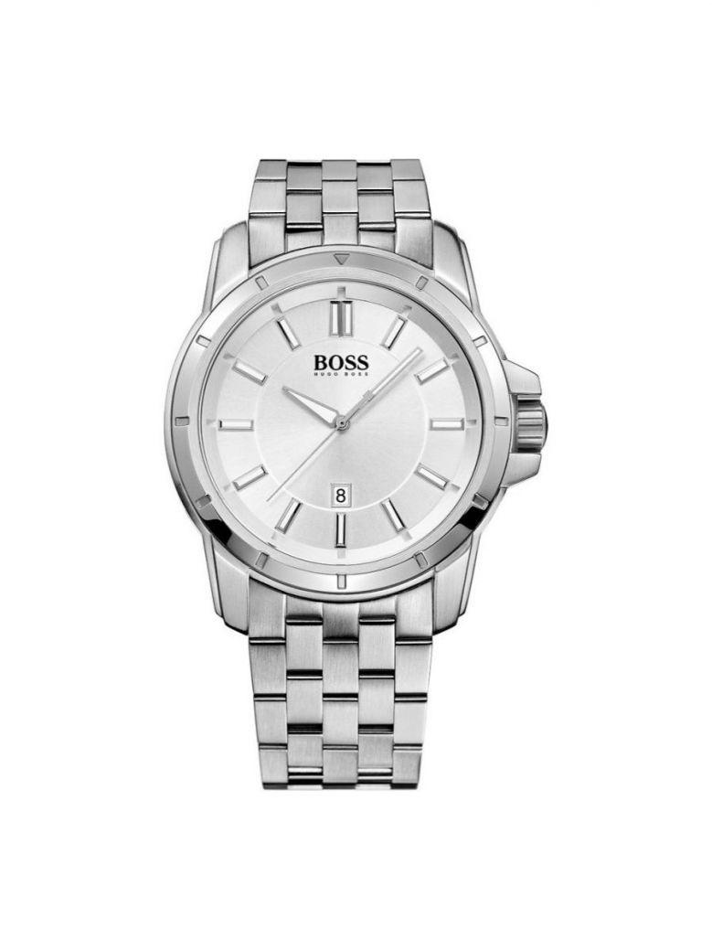 Hugo Boss Silver Dial Watch Silver