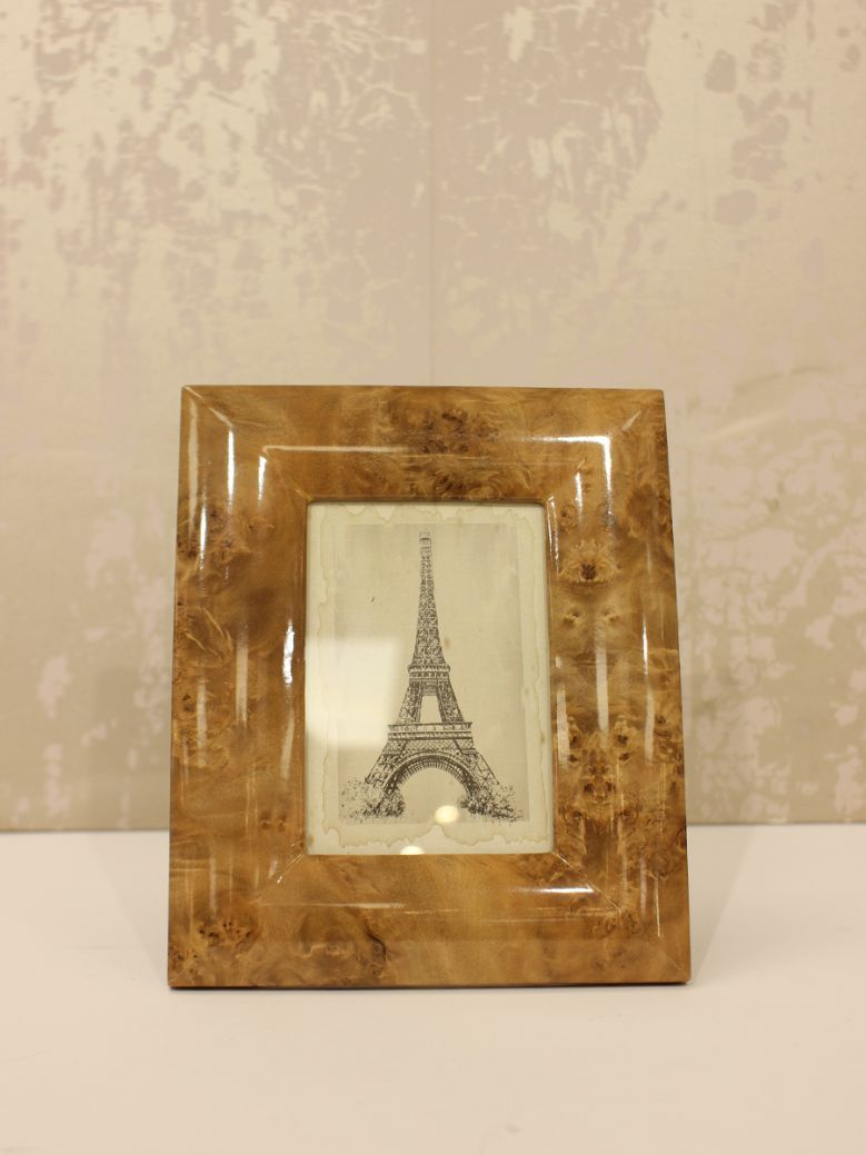 Brown Marble Effect Photo Frame