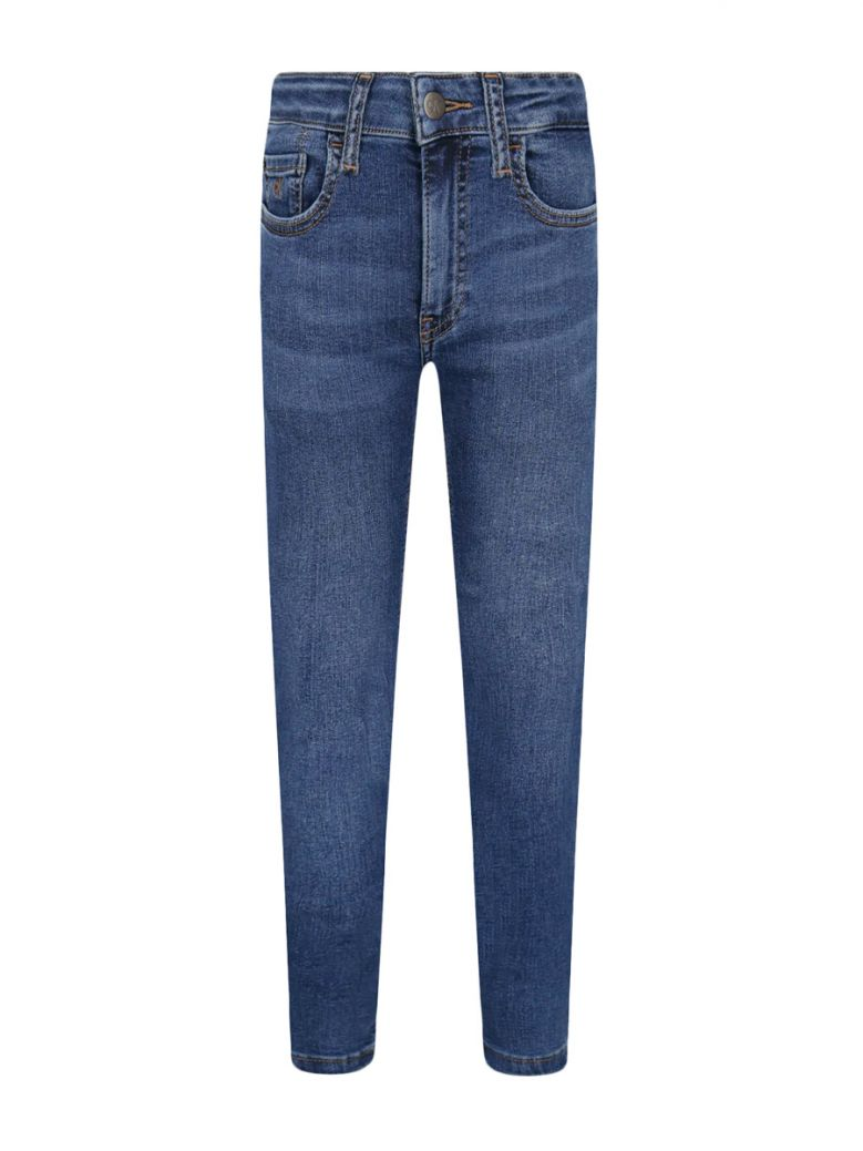 Calvin Klein Jeans Kids Royal Blue Essential Stretch Skinny Jeans
