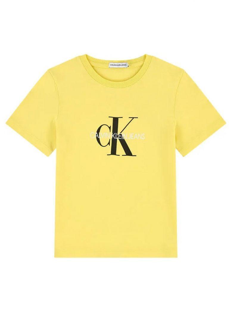Calvin Klein Jeans Yellow Monogram T-Shirt