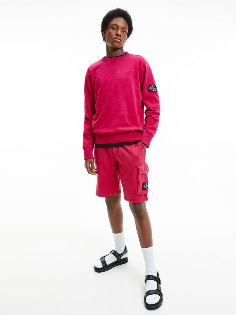 Calvin Klein Jeans Mens Cerise Sweatshirt