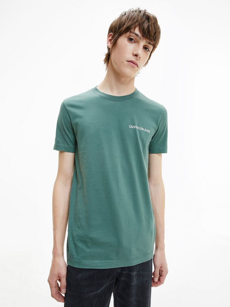 Calvin Klein Jeans Muscle Fit Logo T-Shirt Green