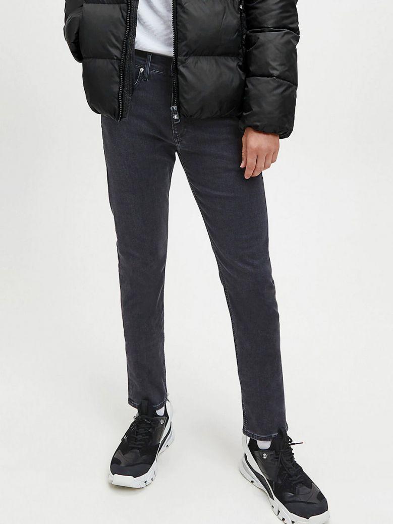 Calvin Klein Jeans Mens Grey Skinny Jeans