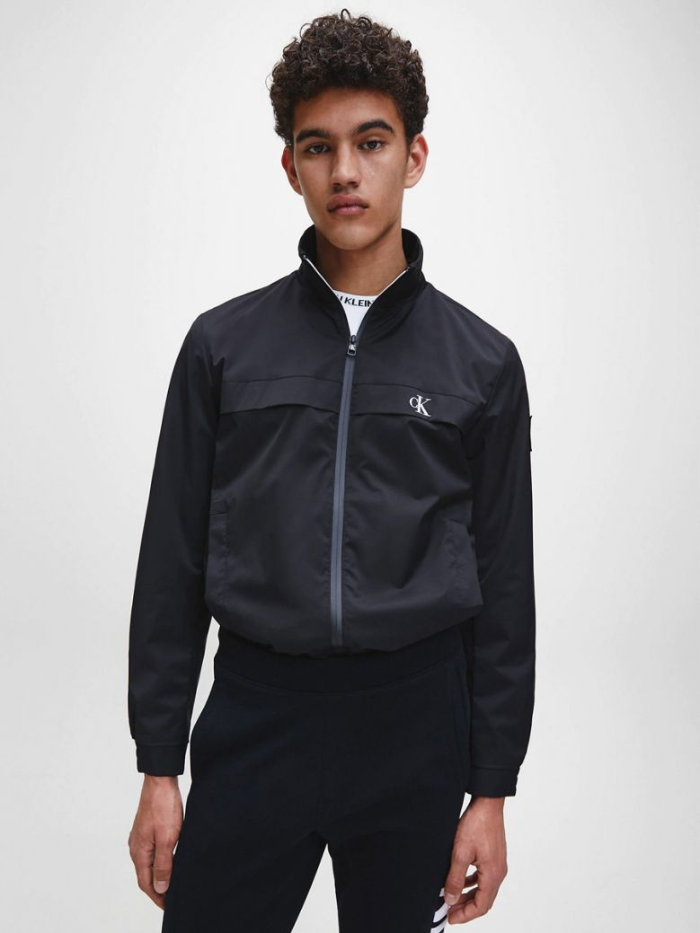 Calvin Klein Jeans Navy Zip Up Jacket