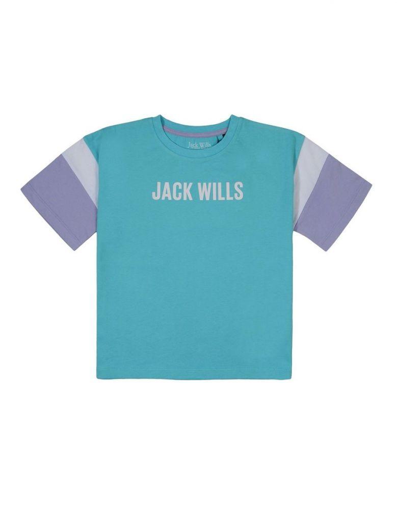 Jack Wills Black Box Tee Blue