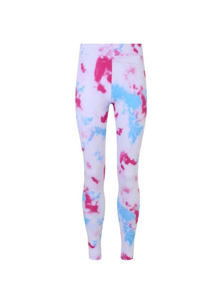 Jack Wills Sky Print Leggings Multi-Coloured