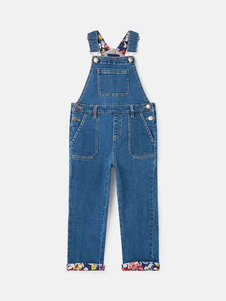 Joules Courtney Dungarees Denim