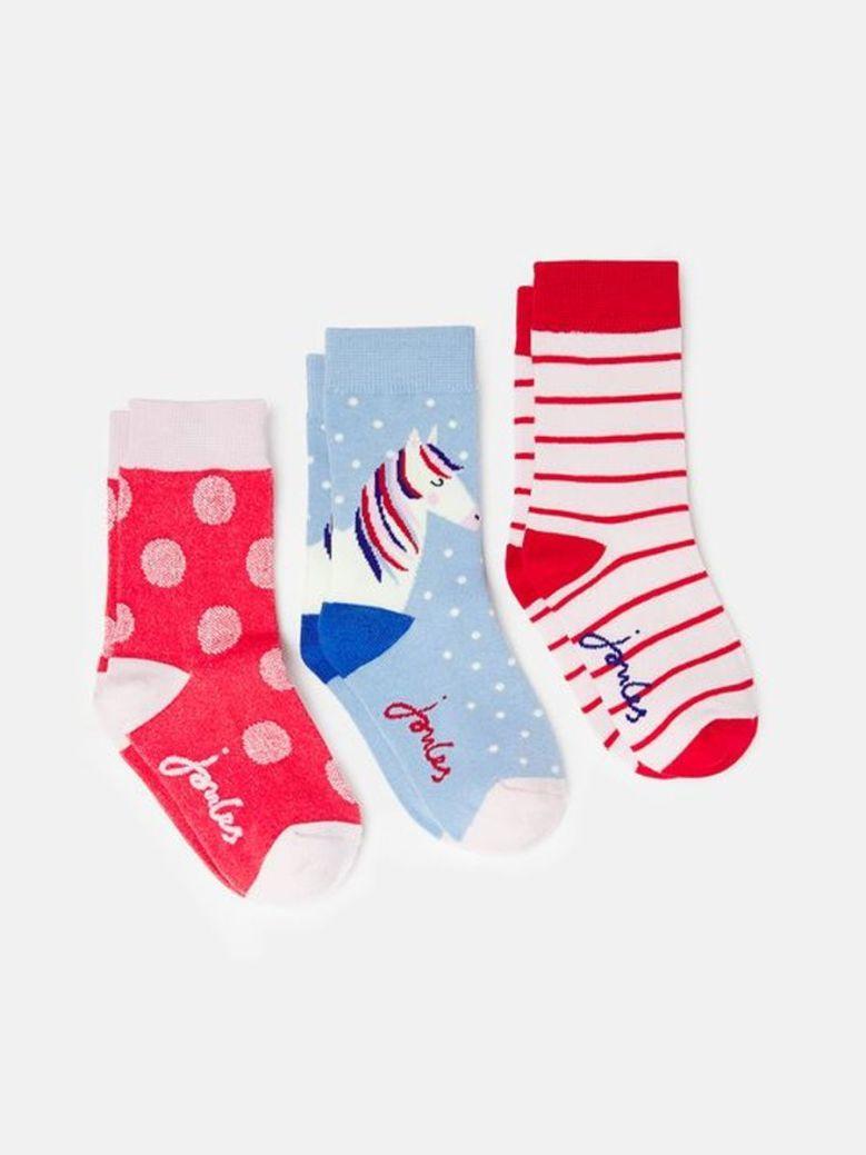 Joules-Brilliant-Bamboo-3-Pack-Socks-Multi