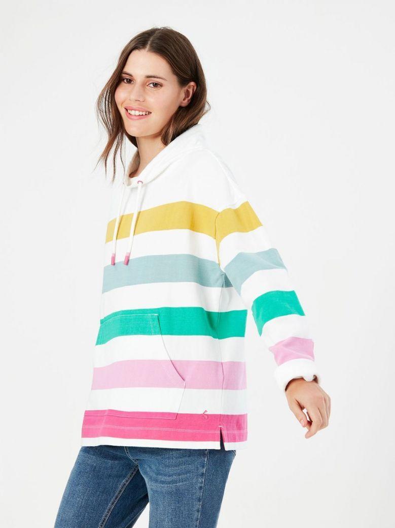 Joules Harlton Funnel Neck Sweatshirt Multi