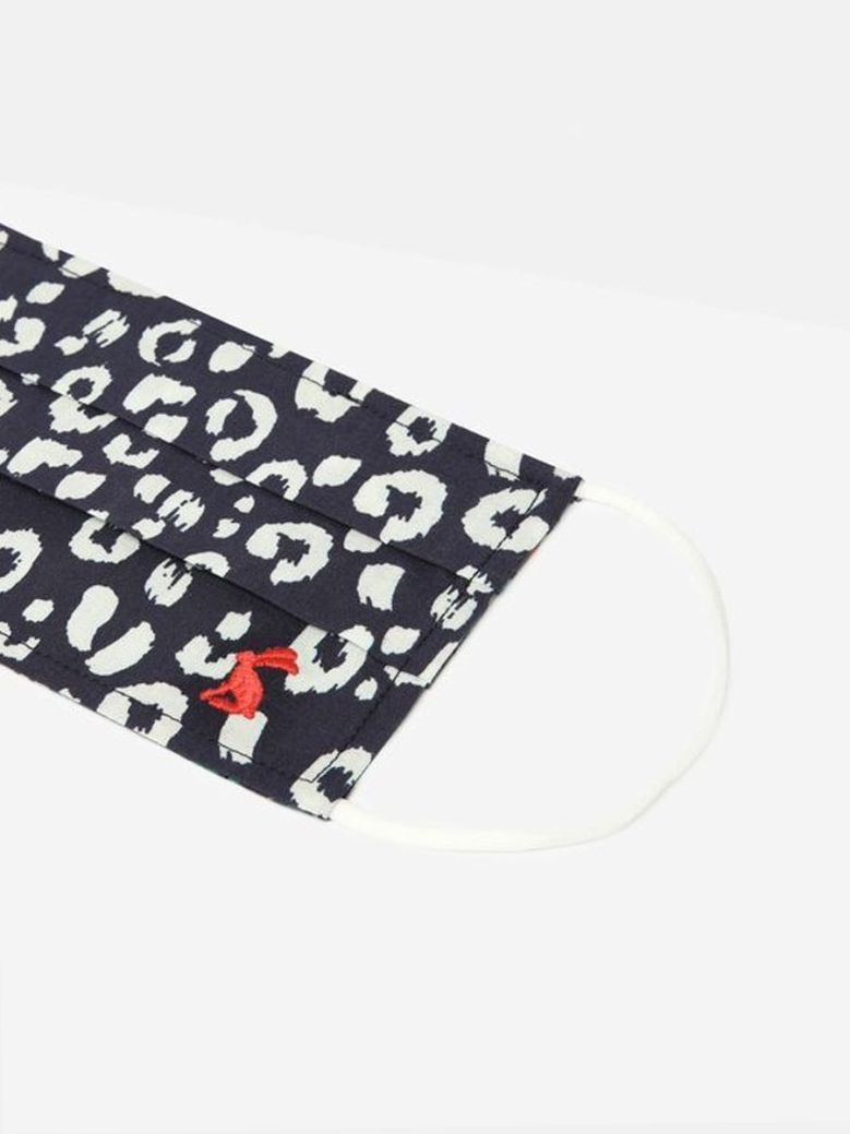 Joules Non-Medical Reversible Face Covering Navy